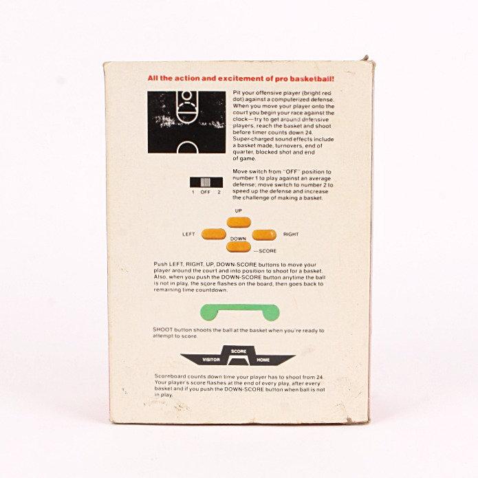 Basketball - Vintage 1979 Handheld Electronic Sports Game - Sears | Vintage  Toy Emporium