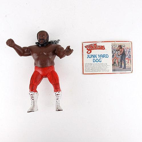 Junk Yard Dog - Vintage 1985 WWF Wrestling Superstars Action Figure - Ljn Toys