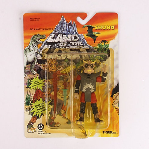 Shung - Classic 1992 Land of the Lost - Action Figure - Tiger Toys
