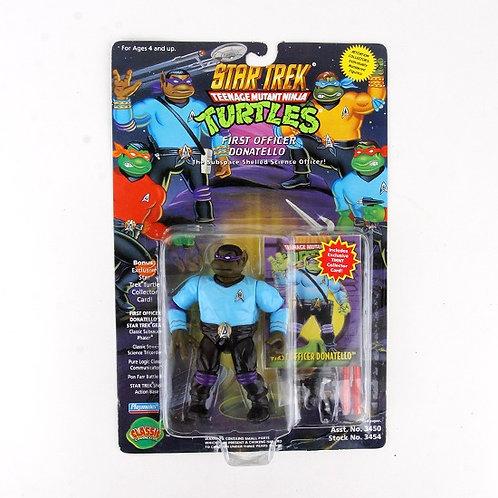 First Officer Donatello - 1994 Teenage Mutant Ninja Turtles Figure - Playmates