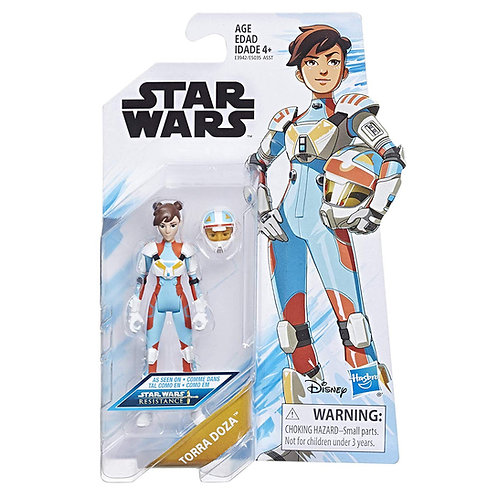 Torra Doza - Modern 2018 Star Wars Resistance Animated Series - Hasbro