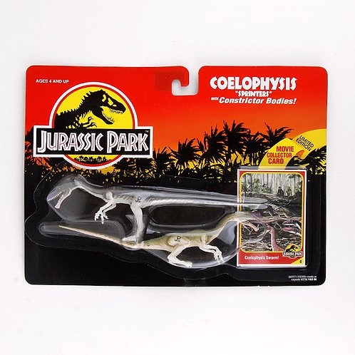 """Coelophysis """"Sprinters"""" - Classic 1993 Jurassic Park Action Figure W1 - Kenner"""