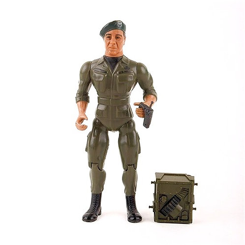 Colonel Trautman - Vintage 1985 Rambo Force of Freedom - Action Figure - Coleco