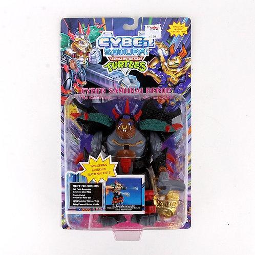 Cyber Samurai Bebop - 1994 Teenage Mutant Ninja Turtle Figure - Playmates