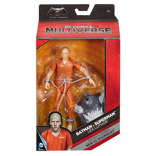 "Lex Luthor - Modern 2016 DC Batman v Superman Multiverse 6"" - Mattel"