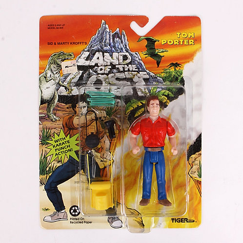 Tom Porter - Classic 1992 Land of the Lost - Action Figure - Tiger