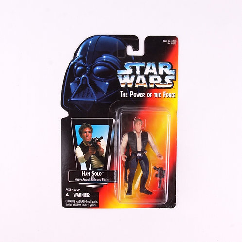 Han Solo - Classic 1995 Star Wars Power of the Force - Action Figure
