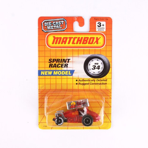 Sprint Racer #34 - Classic 1990 Matchbox / Lesney Die Cast