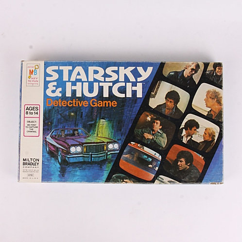 Starsky & Hutch - Vintage 1977 Detective Board Game - Milton Bradley