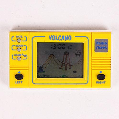 Volcano - Vintage 1989 Electronic Arcade Clock & Calendar Game - Radio Shack