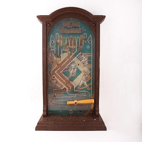 Big Bat Baseball - Vintage 1974 Pinball Game - Mattel