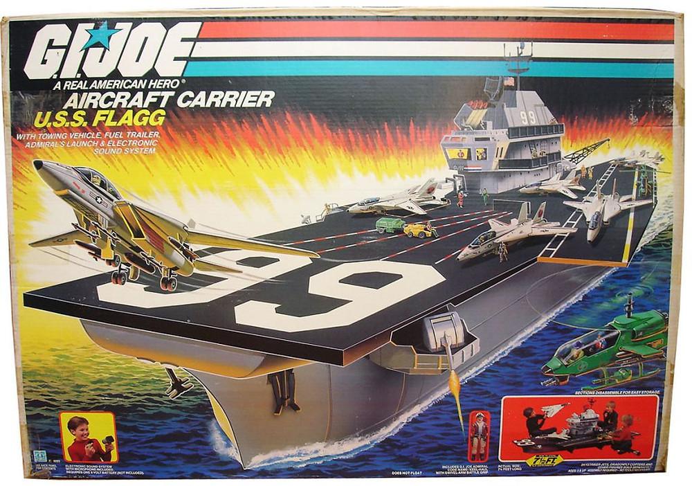 G.I. Joe USS Flagg Playset