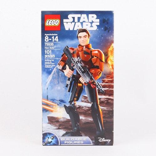 Han Solo - Modern 2018 Star Wars Buildable Figure - Lego