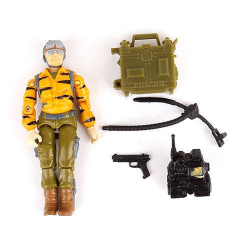 Lifeline - Vintage 1988 G.I. Joe Tiger Force Action Figure - Hasbro