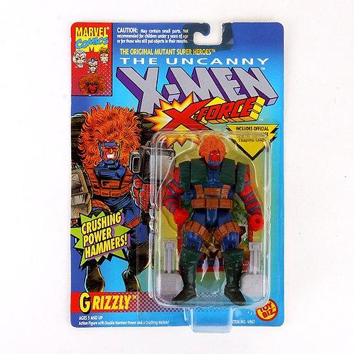 Grizzly - Classic 1993 Marvel The Uncanny X-Men X-Force Action Figure - Toy Biz