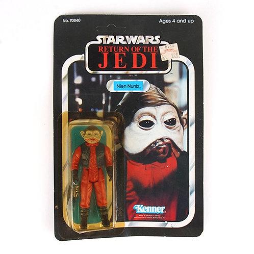 Nien Nunb - Vintage 1983 Star Wars Return of the Jedi - Action Figure - Kenner