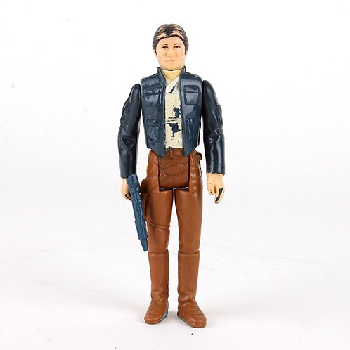 Han Solo (Bespin Outfit) - Vintage 1980 Star Wars Action Figure - Kenner
