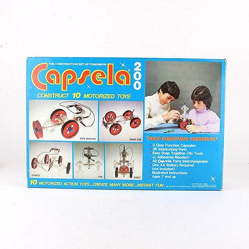 Capsela 200 - Vintage 1978 Motorized Toy - Play Jour (U)