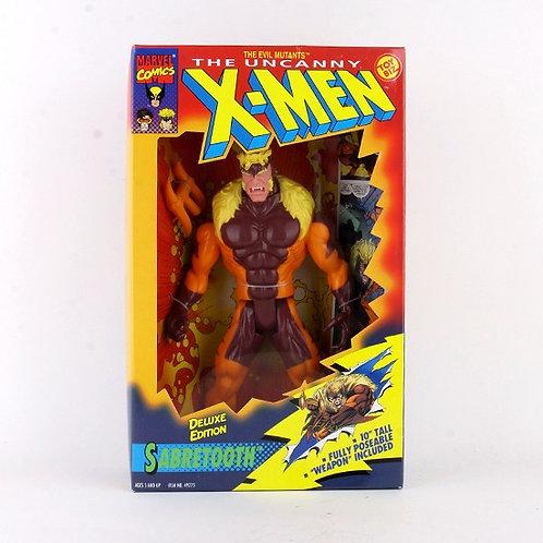 "Sabertooth - Classic 1993 Marvel The Uncanny X-Men 10"" Action Figure - Toy Biz"