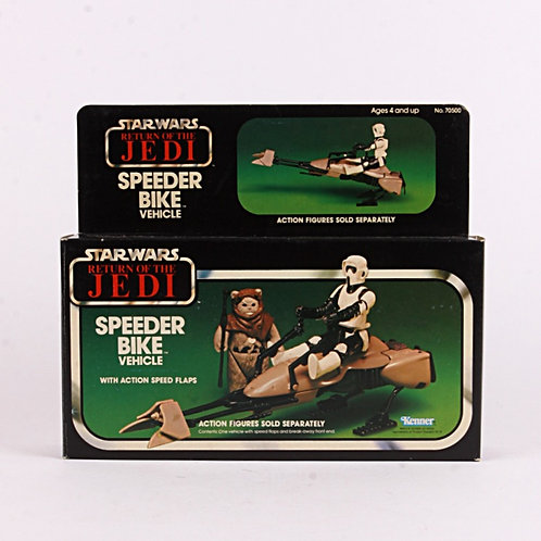 Speeder Bike - Vintage 1983 Star Wars Return of the Jedi - Vehicle - Kenner