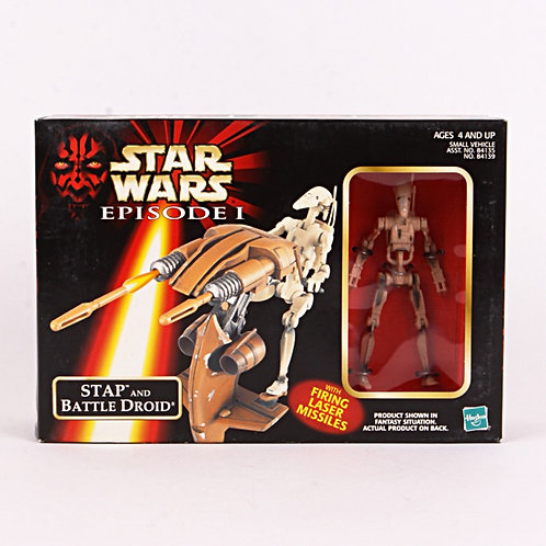 STAP & Battle Droid - Classic 1998 Star Wars The Phantom Menace - Action Figure