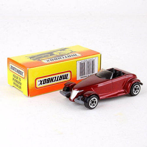 Plymouth Prowler #34 - Classic 1996 Die Cast Vehicle - Matchbox