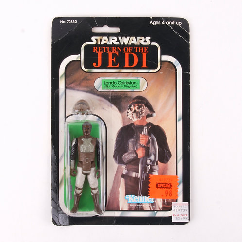 Lando Calrissian - Vintage 1983 Star Wars Return of the Jedi - Action Figure