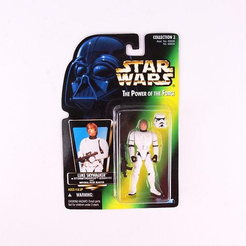 Luke Skywalker - Classic 1996 Star Wars Power of the Force - Action Figure