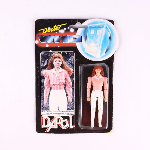 Mel - Pink Shirt - Vintage 1987 Doctor Who - Dapol Action Figure