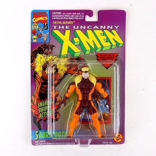Sabretooth - Classic 1993 Marvel The Uncanny X-Men Action Figure - Toy Biz
