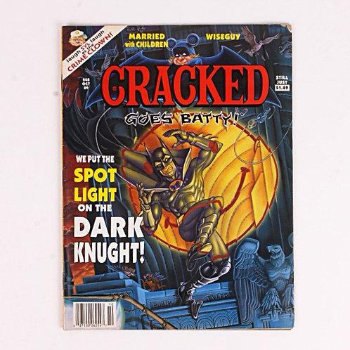 Cracked Magazine - Vintage Oct 1989 # 248 - Batman Dark Knight