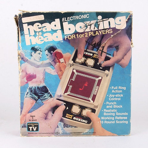 Head to Head Boxing - Vintage 1981 Electronic Tabletop Sports Game - Coleco