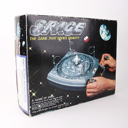 Space - Vintage 1979 The Game That Defies Gravity - With Design in Mind