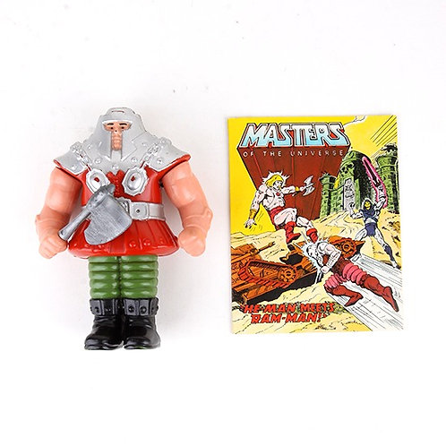 Ram Man - Vintage 1983 Masters of the Universe - Action Figure - Mattel