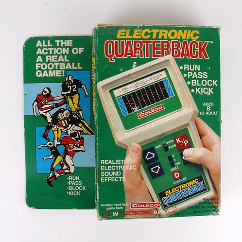 Electronic Quarterback - Vintage 1978 Handheld Sports Game - Coleco