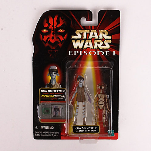 Ody Mandrell - Classic 1998 Star Wars The Phantom Menace - Action Figure