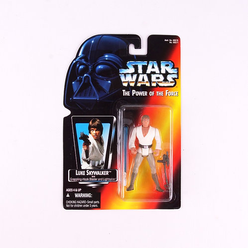 Luke Skywalker - Classic 1995 Star Wars Power of the Force - Action Figu