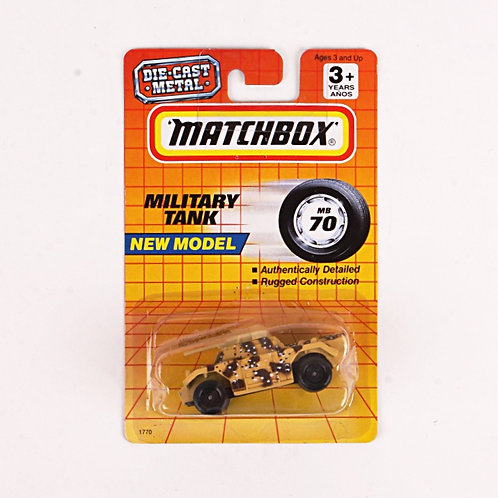Military Tank #70 - Classic 1993 Matchbox - Die Cast Vehicle