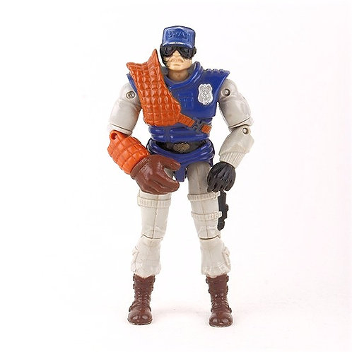 Sgt. Mace - Vintage 1988 Cops 'n Crooks - Action Figure - Hasbro
