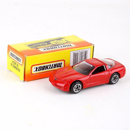 '97 Corvette #4 - Classic 1996 Die Cast Vehicle - Matchbox