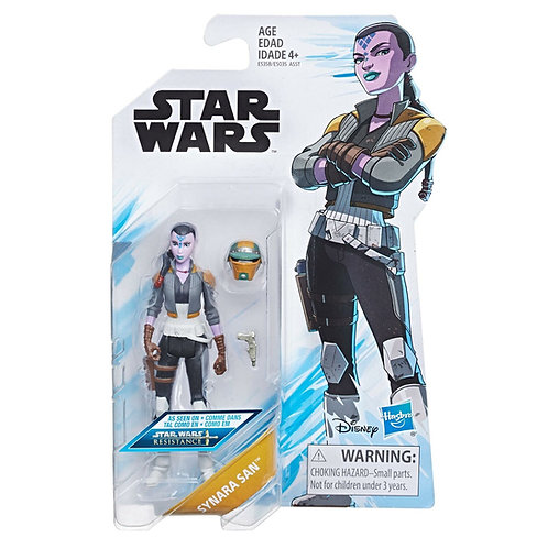 Synara San - Modern 2018 Star Wars Resistance Animated Series - Hasbro