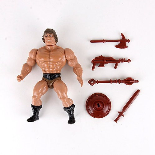 Savage He-Man - Vintage 1982 Masters of the Universe - Action Figure - Mattel