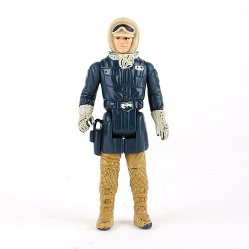Han Solo (Hoth Outfit) - Vintage 1980 Star Wars Action Figure - Kenner