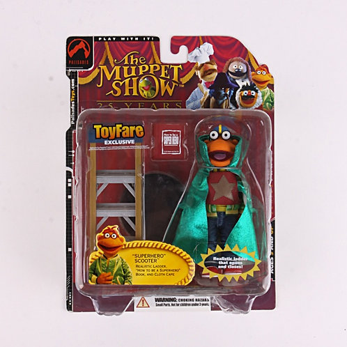 Superhero Scooter - Modern 2002 The Muppet Show - Action Figure - PalisadesToys