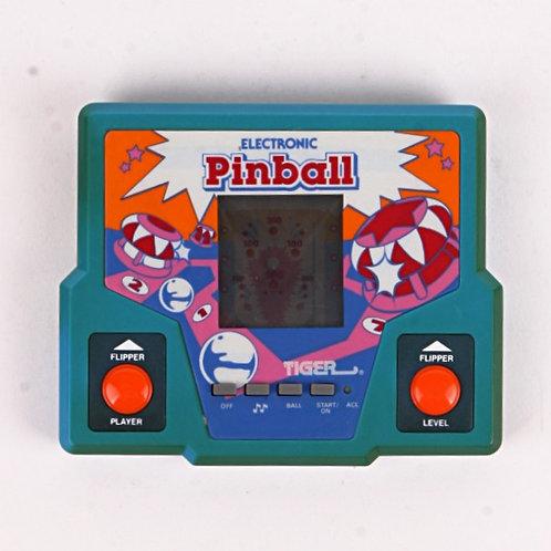 Pinball - Vintage 1987 Electronic Handheld Arcade Game - Tiger