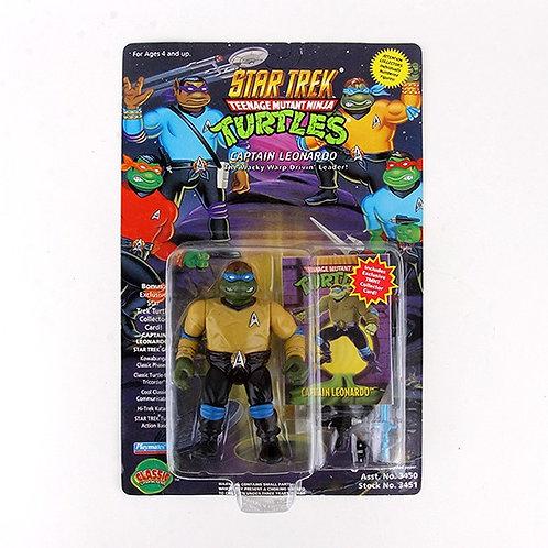 Captain Leonardo - 1994 Teenage Mutant Ninja Turtles Action Figure - Playmates