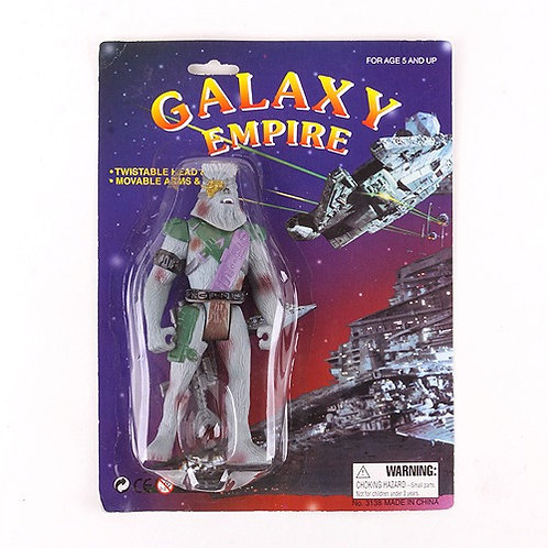 Chewbacca - Classic 1997 Galaxy Empire Star Wars Bootleg - Action Figure