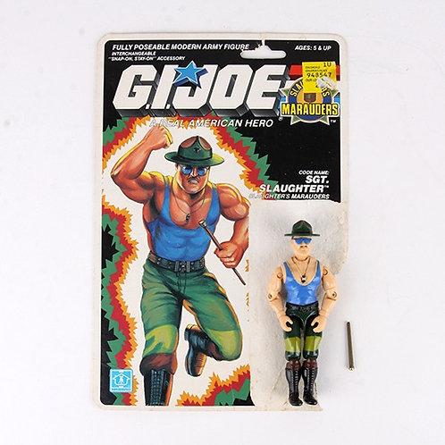 Sgt. Slaughter - Vintage 1989 G.I. Joe Action Figure - Hasbro