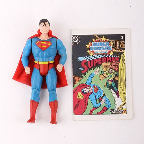 Superman - Vintage 1984 Super Powers DC Comics - Action Figure - Kenner