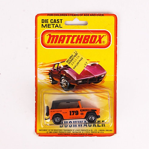 Bushwacker #179 - Vintage 1980 Matchbox / Lesney Die Cast Vehicle